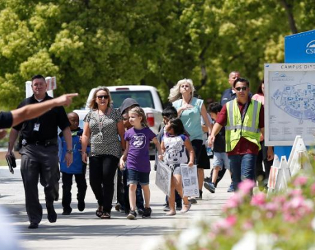 California gunman kills wife, self as she teaches class; student also dead