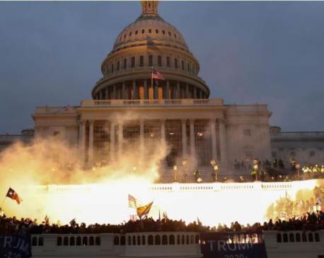 U.S. lawmaker draws up impeachment papers on Trump after mobs storm Capitol