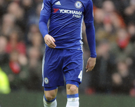 Team player Fabregas leads Chelsea to brink of EPL title