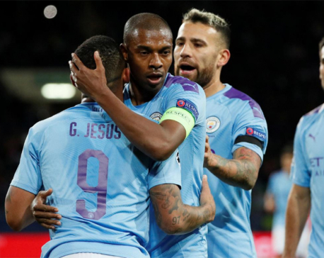 Fernandinho emerges as defensive fix for injury-hit Man City
