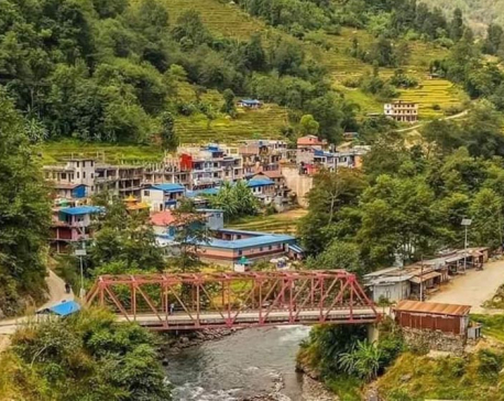 VIDEO: Helambu likely to suffer food, medical crisis as last bridge of Helambu-Melamchi corridor swept away