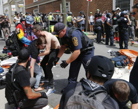 3 dead, dozens injured, amid violent white nationalist rallys injured, amid violent white nationalist rally