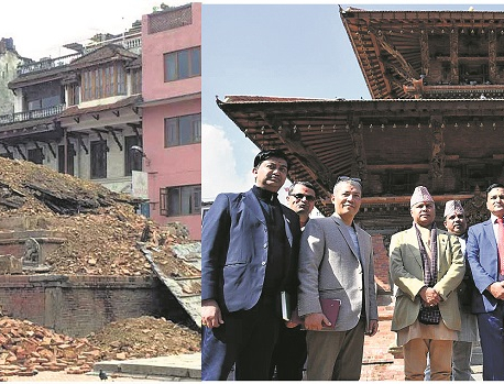 Char Narayan Temple restored with support from US, Japan, Germany