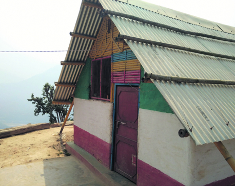Chaudhary Foundation hands over 166 transitional shelters in Dhading