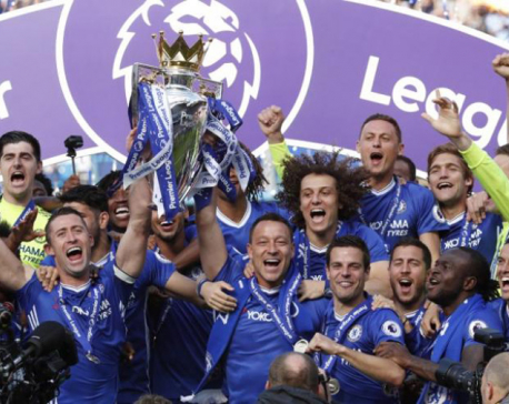 Champions Chelsea earn 150 million pounds in Premier League payments