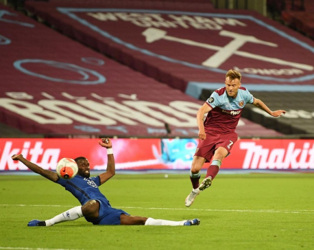 Yarmolenko earns West Ham vital win over Chelsea