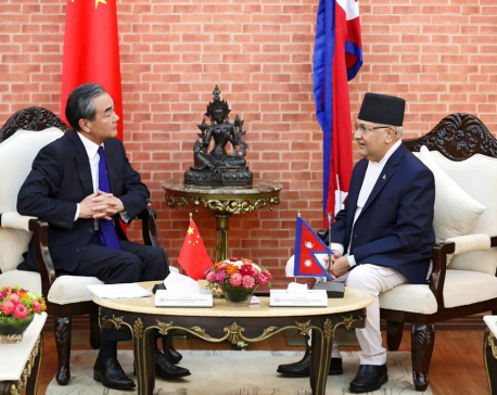 Nepal, China reach three separate agreements during Wang's visit
