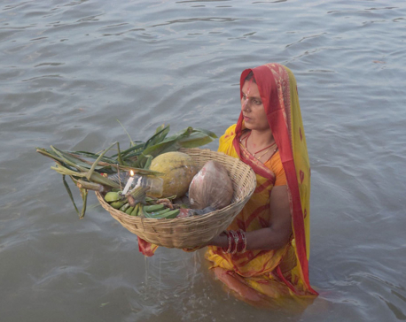 Chhath concludes with fanfare