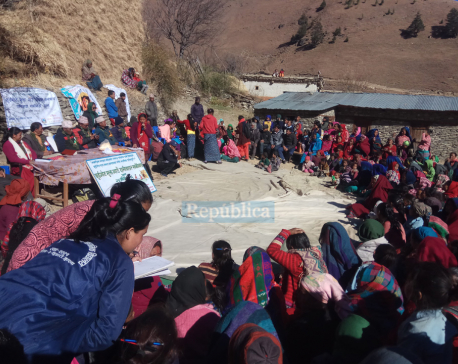 Campaign launched to dismantle Chhaupadi sheds in far-flung villages of Jumla