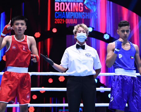 Nepal wins three bronze medals in ASBC Asian Youth & Junior Boxing Championship