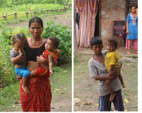 Children in remote villages of Kailali deprived of vaccines