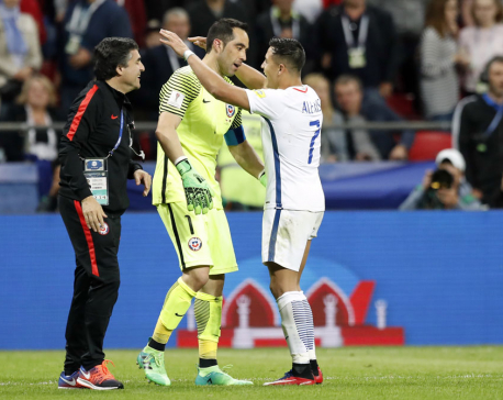 Chile crush Portugal on penalties to reach final