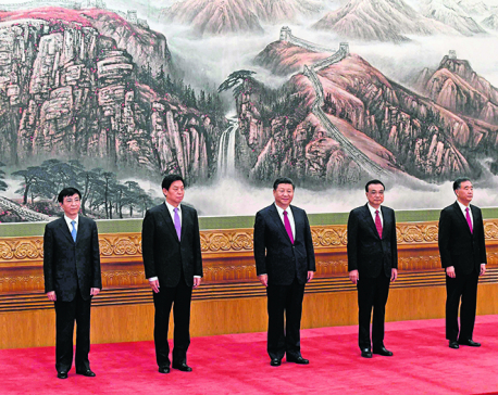 China unveils new top leadership, Xi gets second term