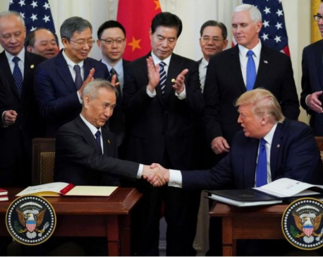 Concerns linger after U.S. and China sign initial trade deal