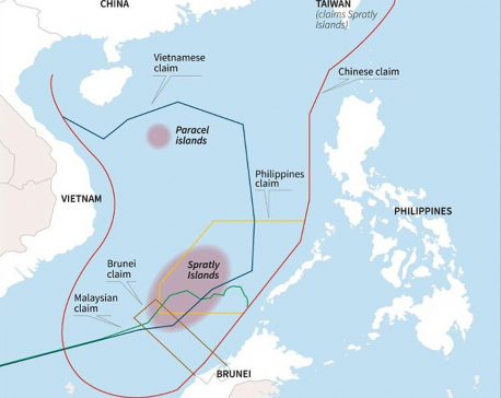 Philippines starts construction near China's manmade islands in disputed waters