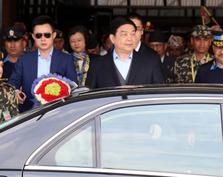 Chinese Defence Minister Chang returns home