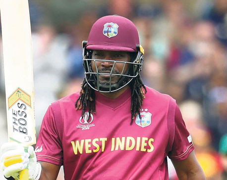 Pokhara Rhinos sign Chris Gayle for EPL