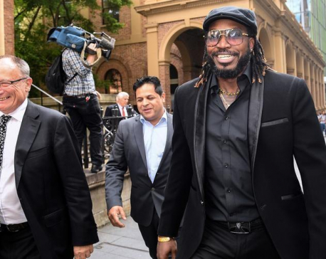West Indies batsman Gayle wins defamation case in Australia