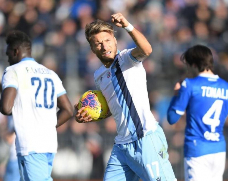 Lazio extend winning run to nine with another late show