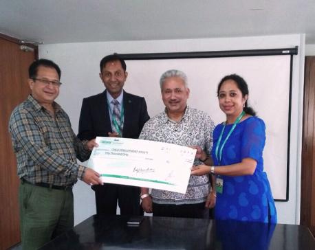 Citizens Bank supports Bal Bikas Samaj