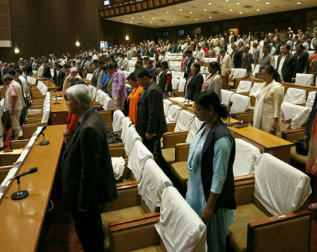 House passes condolence motion on Limbu's demise