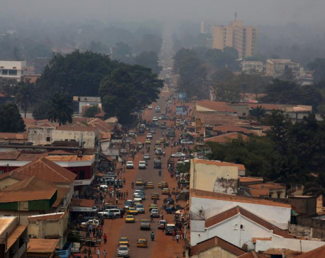 Central African Republic votes amid tight security after December violence
