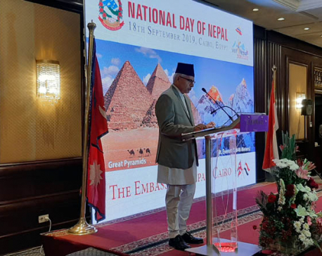 Nepal's Constitution Day observed in Egypt