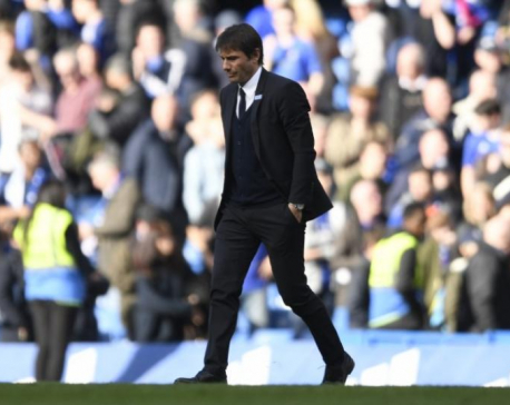 Chelsea's Conte taking season 'step by step' ahead of Man City test
