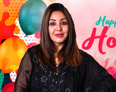 Let's celebrate Holi in hygienic way: Karishma Manandhar