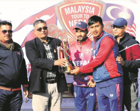 Paudel hits form in 3-0 CAN XI sweep against Malaysia XI