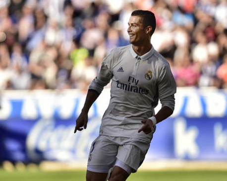 Ronaldo 2 goals shy of 100 in European competitions