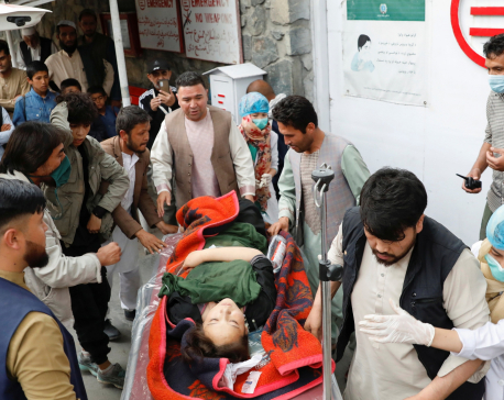 Car bombing at Afghan school in Kabul kills 55, injures over 150