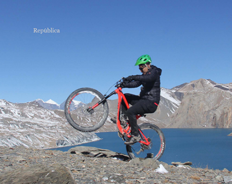 Cycling to Tilicho? (PHOTO FEATURE)