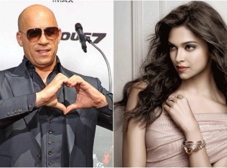 Blessed to know you: Vin Diesel to Deepika