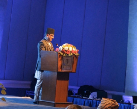DPM Pokharel calls for extensive discussion to minimize climate change effects