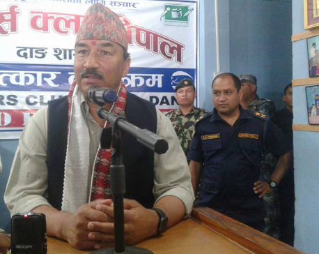 Local level elections at any cost, DPM Thapa says