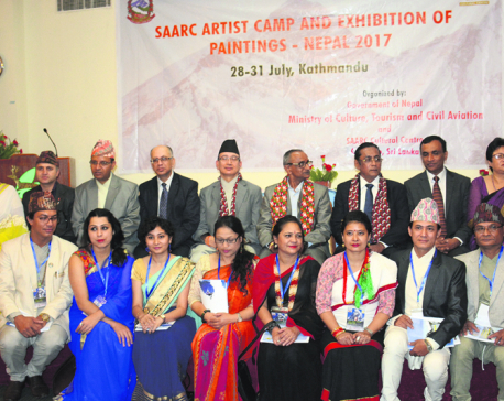 SAARC Artists  Camp in Nepal