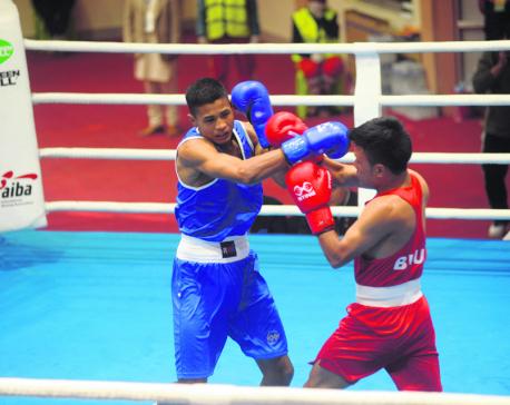 Three Nepali boxers into semifinals