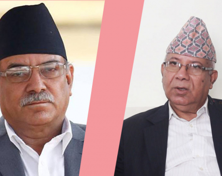 Central committee meeting of NCP's Dahal-Nepal faction this afternoon