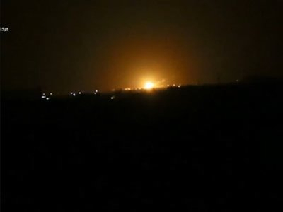 Syrian media: Israel attacked installation near Damascus