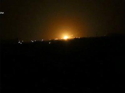 Syrian media: Israel attacked installation near Damascus
