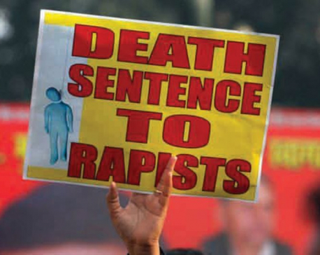 How appropriate is demand for death penalty to rapists?