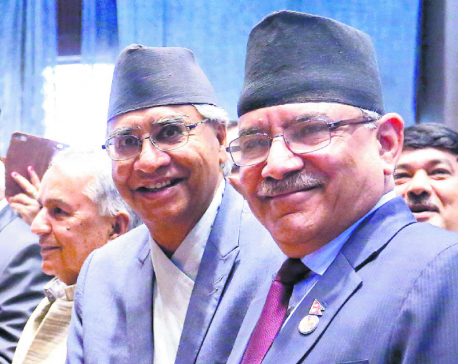Deuba is sole candidate for PM