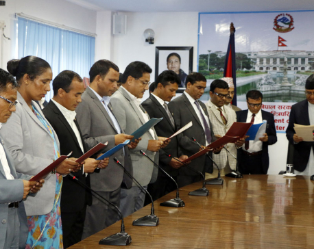 Cabinet expanded with eight Ministers of State