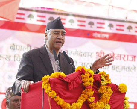 Govt could be tacitly supporting pro-monarchy protests: NC President Deuba