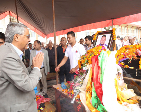 PM Deuba pays tribute to ultra-runner Pandit