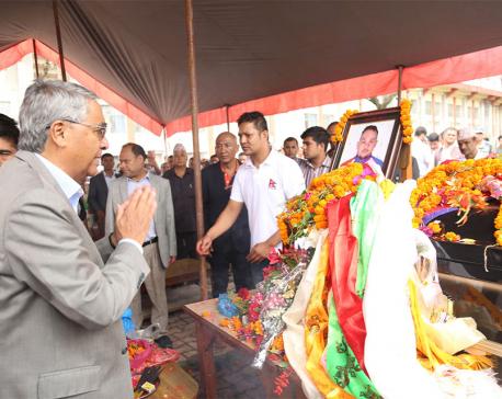 PM Deuba pays tribute to ultra-runner Pandit