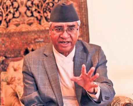 Meeting held between PM Deuba, Speaker Sapkota and ruling party leaders