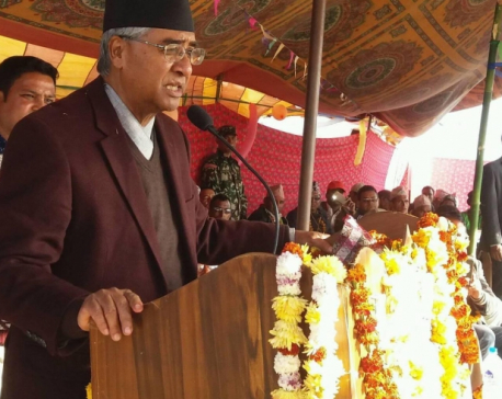 Two alternatives to election, either democracy or communism: PM Deuba