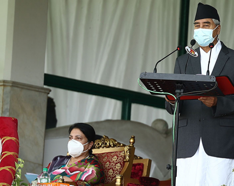 PM Deuba addresses nation on occasion of 7th Constitution Day